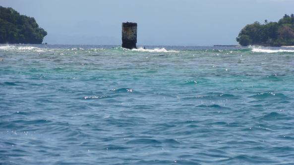 Pangkaradomoto Reef (pre WW1 German navigation aid position)