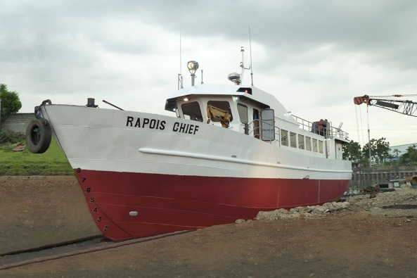 Rapoise Chief in Dry Dock
